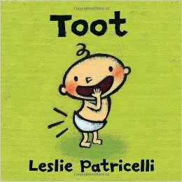 Book cover for Toot by Leslie Partricelli