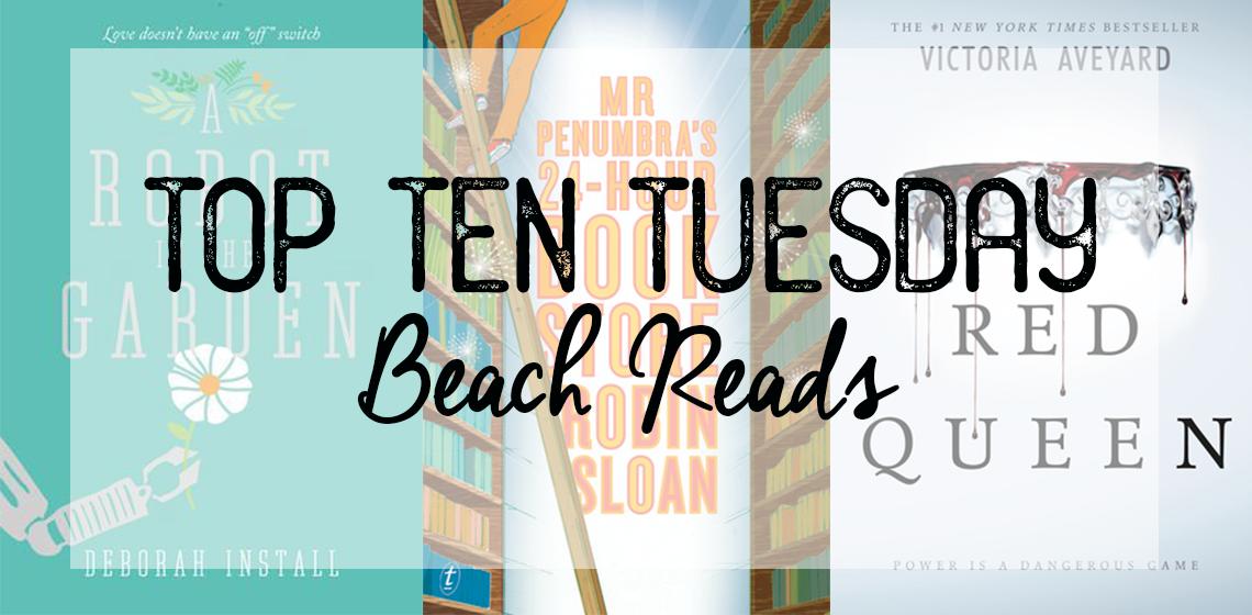 Top Ten Tuesday | Beach Reads