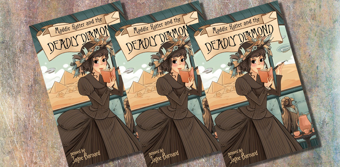 Book Review | Maddie Hatter and the Deadly Diamond | trishajennreads