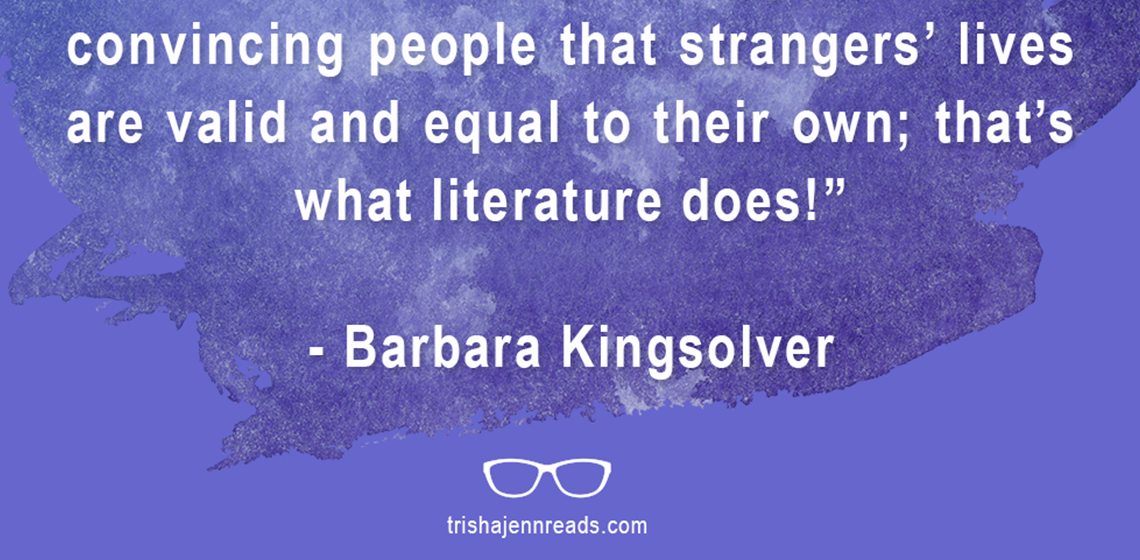 convincing others that strangers are equal - literature - on trishajennreads