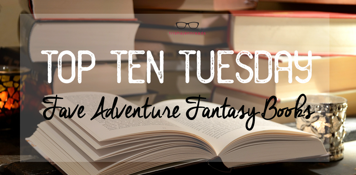 stacks of books - top ten tuesday on trishajennreads