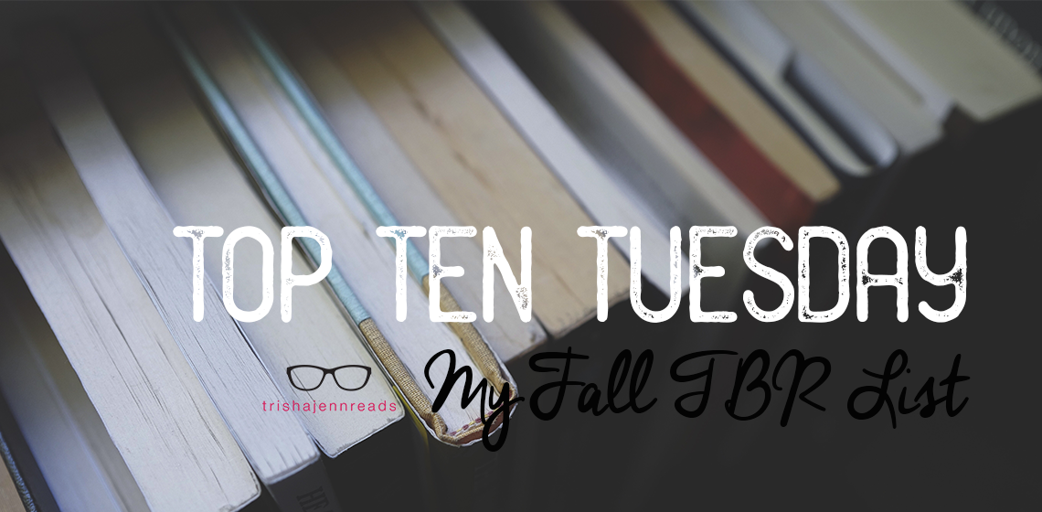 tops of books | books on my TBR list | trishajennreads