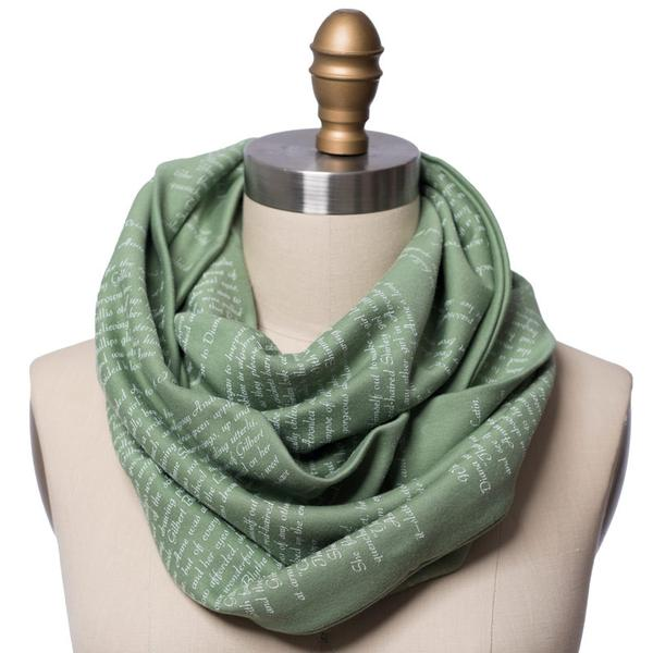 Anne of Green Gables literary scarf