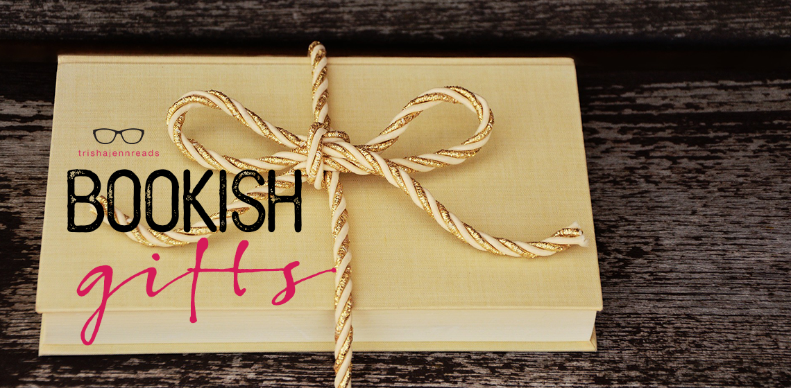 book tied in string, bookish gifts on trishajennreads