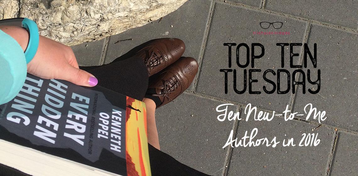 ten new-to-me authors in 2016, trishajennreads