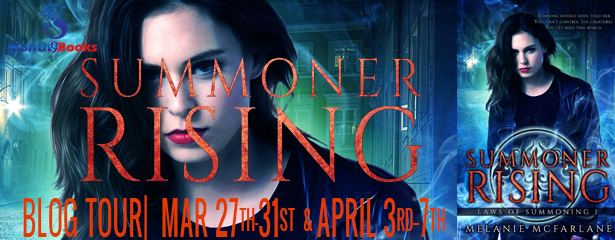 Summoner Rising blog tour