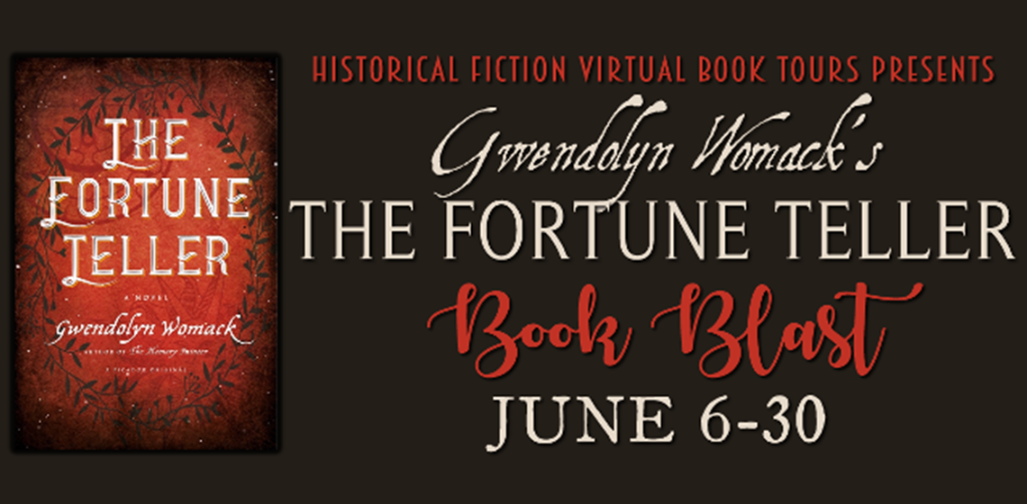 Historical Fiction Virtual Book Tours - The Fortune Teller - Book Blast - June 6-30