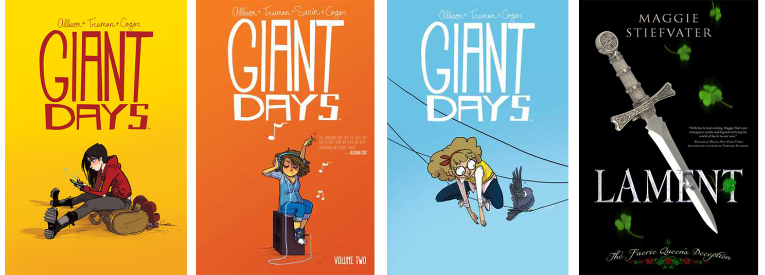 boutofbooksTBRbooks - Giant Days Volume One, Two, Three, Lament