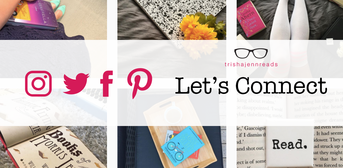 let's connect on social media - trishajennreads