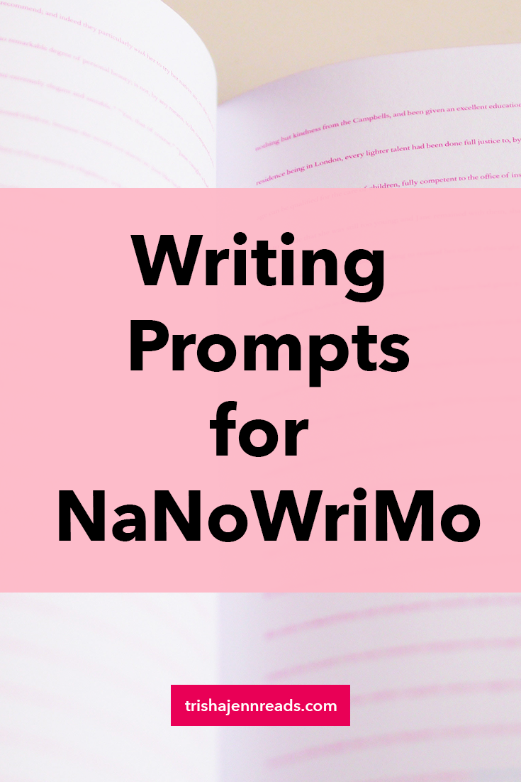 writing prompts for NaNoWriMo