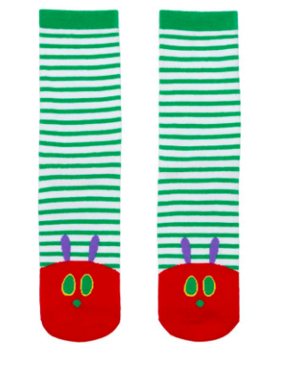 The Very Hungry Caterpillar Socks.
