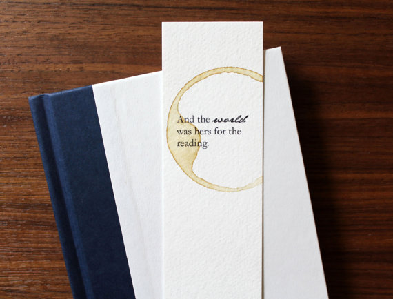Quote bookmark by Wonderflies