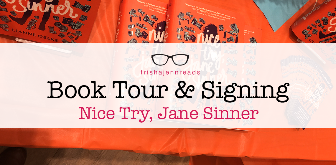 Book tour - Nice Try, Jane Sinner