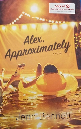 alex approximately by Jenn Bennett