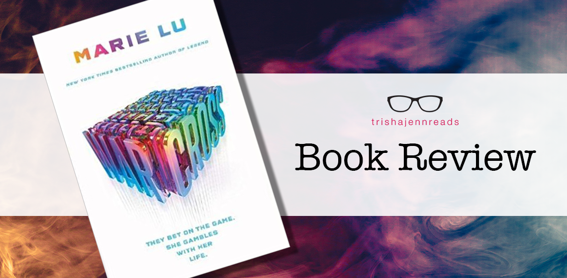 Book review: Warcross by Marie Lu on trishajennreads