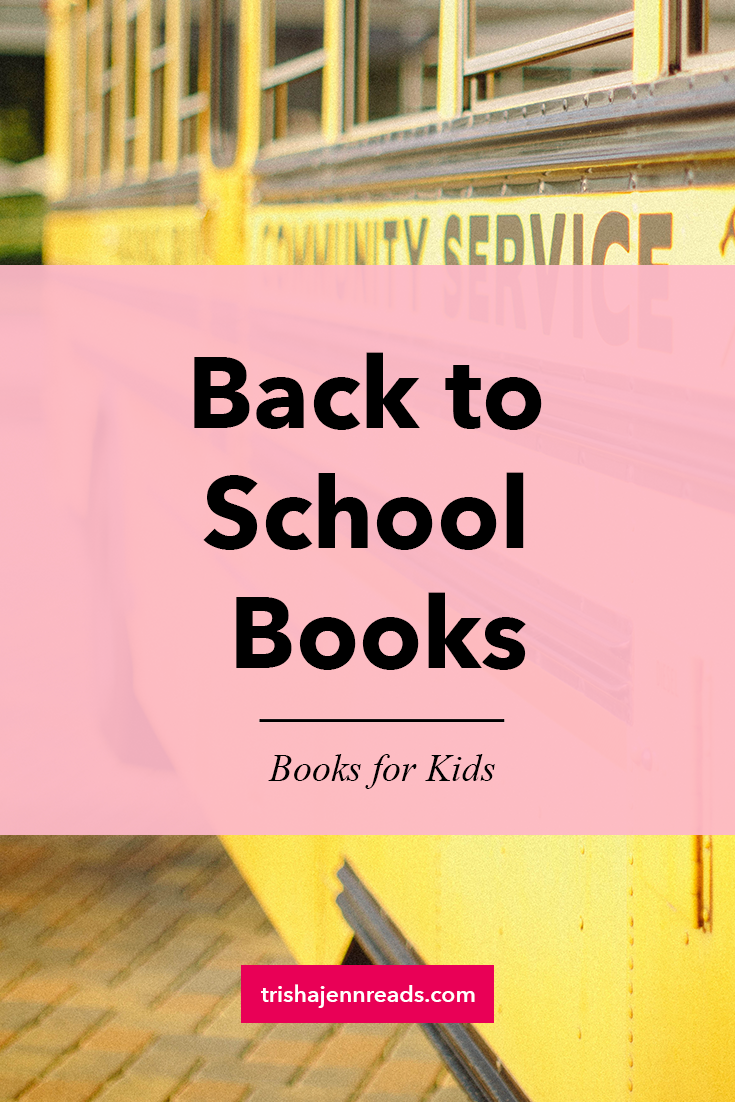 back to school books - books for kids - image of a school bus