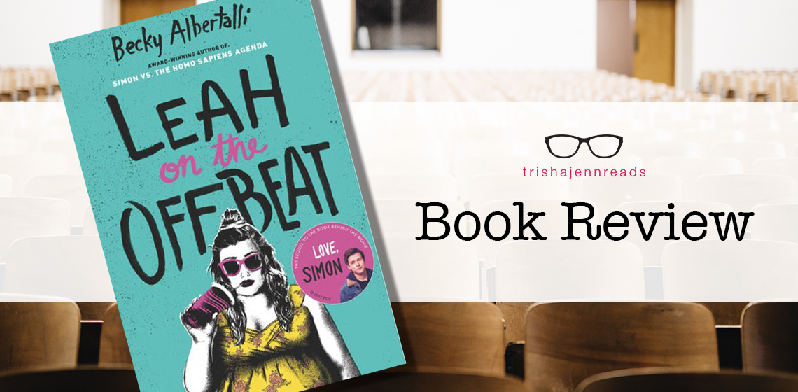 book review leah on the offbeat on trishajennreads