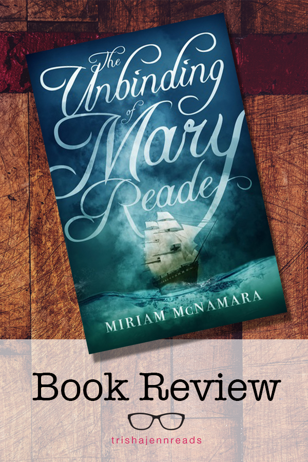 A book about a girl who falls in love with a female pirate. Book review on trishajennreads.com