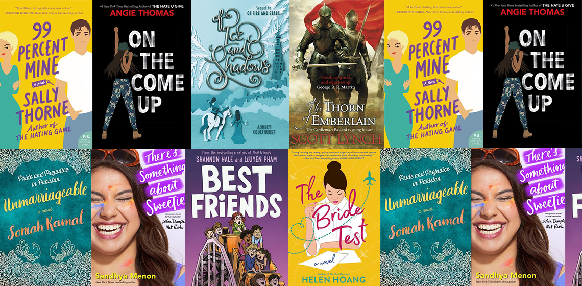 Book covers of 2019 releases that trishajennreads really wants to read