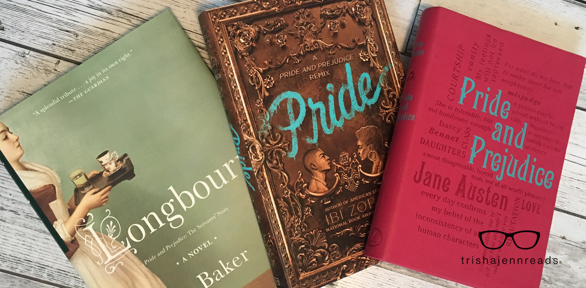 Pride & Prejudice Re-tellings on trishajennreads.com