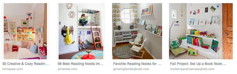book nook ideas in Google Image Search