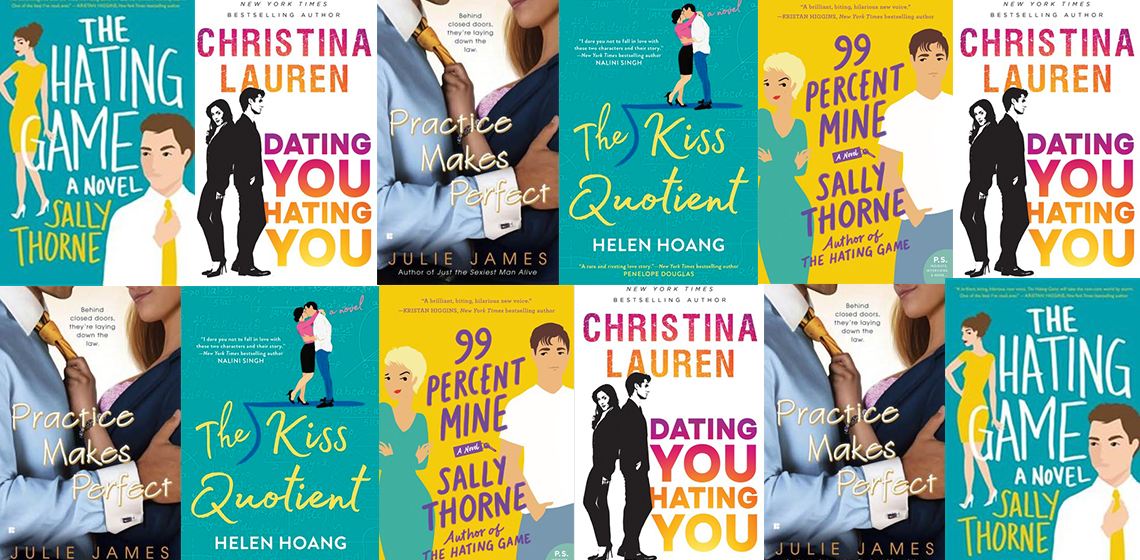 Books to read if you loved THE HATING GAME on trishajennreads.com