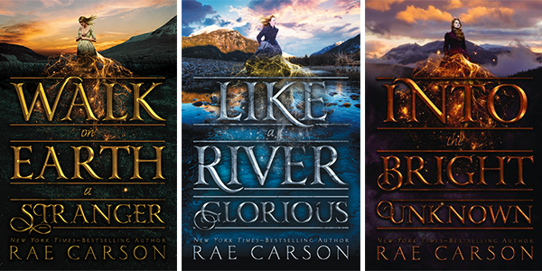 The Goldseer book trilogy