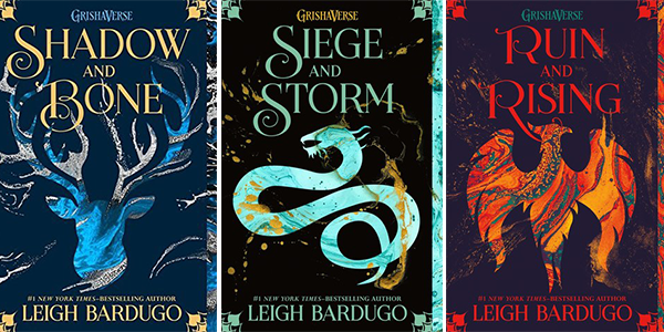 Grishaverse trilogy book covers