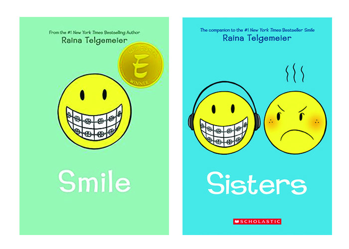 Smile & Sisters by Raina Telgemeier