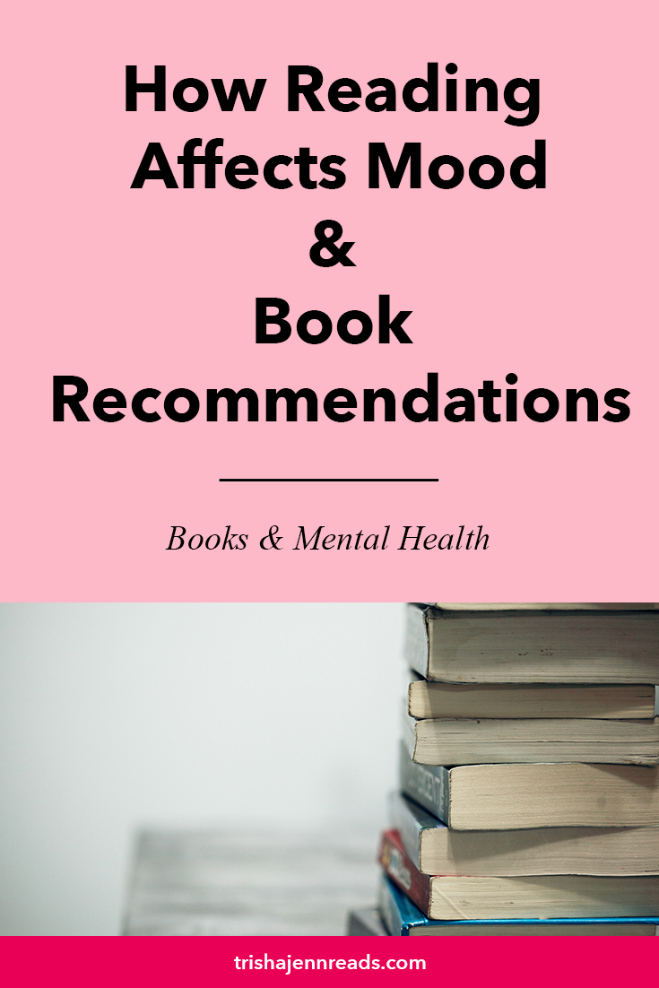 How the books I read affect my mood and how that impacts the book recommendations I can give on trishajennreads.com