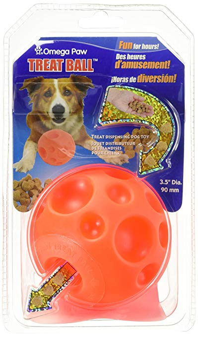 tricky treat ball dog toy
