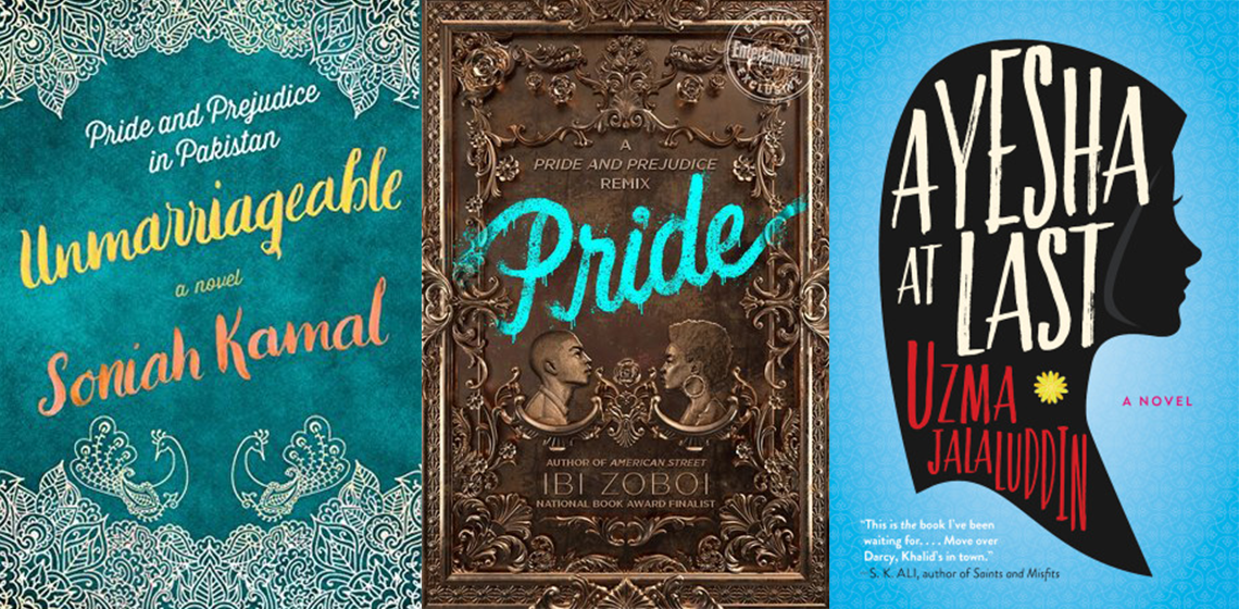 Diverse Pride and Prejudice Retellings