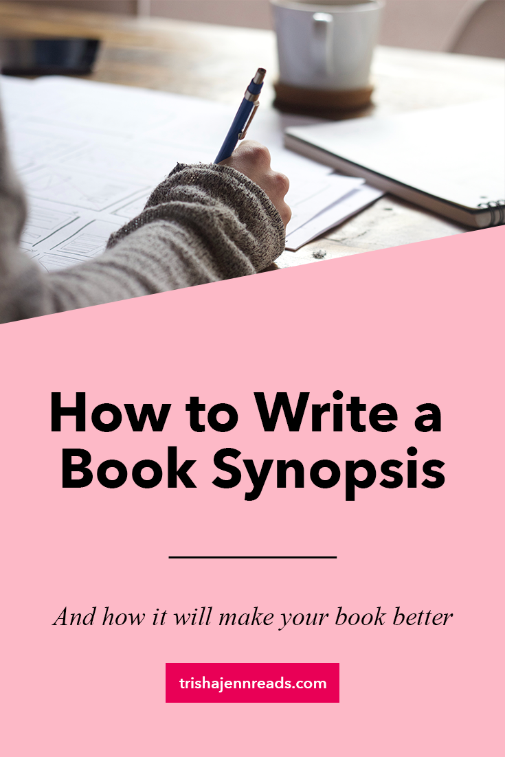 how to write a book synopsis