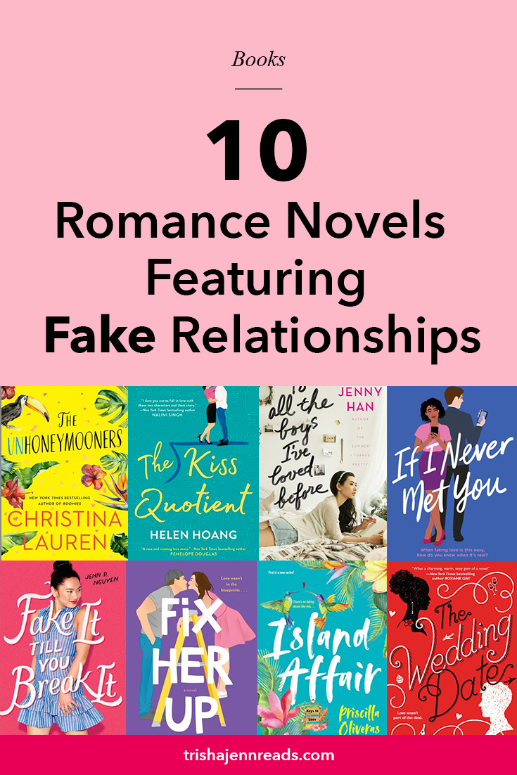 10 romane novels featuring fake relationships